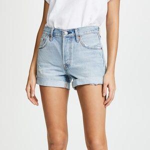 Levi's 501 Long Denim Shorts